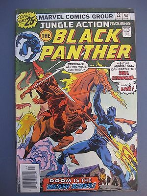 Jungle Action Featuring The Black Panther #22 July 1976 Marvel Comics