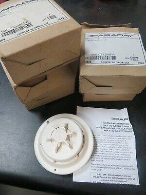 2 Pc-Faraday 8712 Heat Detector Module (Nib)