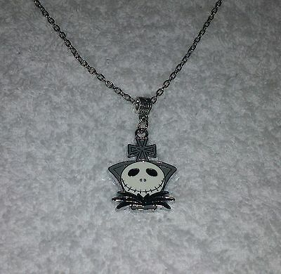Unwanted NIGHTMARE BEFORE CHRISTMAS JACK Inspired Charm NECKLACE Party Bag Gift