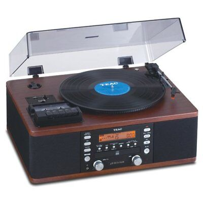 Teac LPR550-USB CD Recorder with Cassette Turntable (Walnut) Free Shipping
