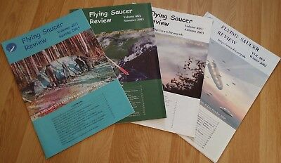 2003 4x FSR FLYING SAUCER REVIEW MAGAZINES - VOLUME 48 (No 1 to 4) - UFO