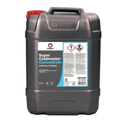 Super Coldmaster Antifreeze & Coolant Concentrated 20 Litre Comma SCA20L