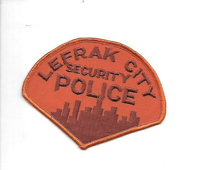Lefrak City, New York. OLD police patch