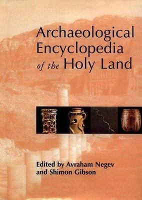 Archaeological Encyclopedia of the Holy Land, Negev, Avraham, Good Condition, Bo