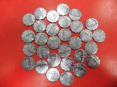 Lot of (30) 10 Fils Coin from Iraq Various Dates-