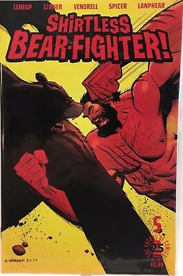 SHIRTLESS BEAR FIGHTER #5 COVER A IMAGE COMIC BOOK 1ST PRINT NM- jj