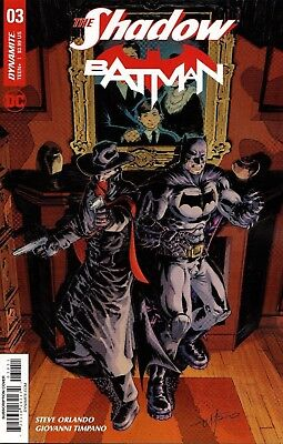 The Shadow / Batman #3 Subscription Cover  Dc/dynamite Comic Book Nm Ap