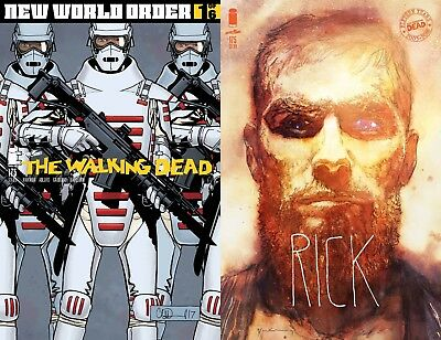 Walking Dead #175  Cvr B Sienkiewicz + Regular New World Order Ships On 1/3/18