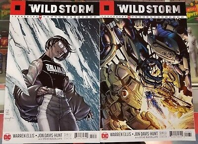 The Wildstorm #10 Cover B And C 2017 Dc Comic Book Nm