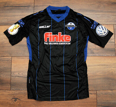 Saller match issued Trikot SC Paderborn 07 Home DFB-Pokal 2017/18 Marcus Piossek