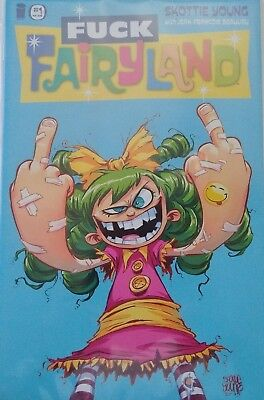 I Hate Fairyland: #1 Uncensored Variant Cover Image Comic Book Nm- Ap
