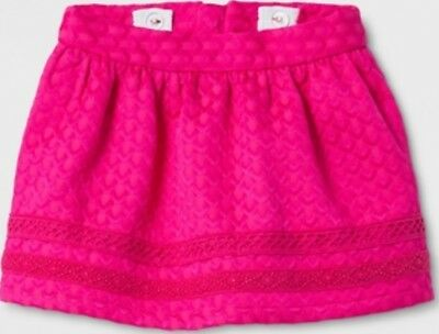 NEW GENUINE KIDS OshKosh Toddler girls skirt Pizzazz Pink 12M 18M 2T