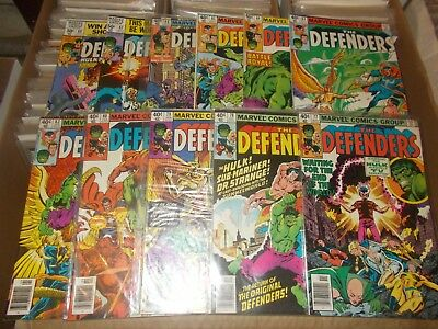 THE DEFENDERS 77-80,82-88  HULK   fn+  vfn+