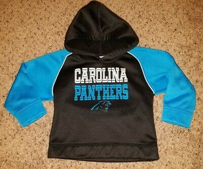 NFL Carolina Panthers Slip Over Hoodie, Size 3T