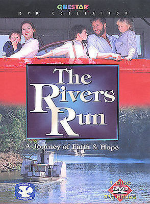 The Rivers Run A Journey of Faith & Hope Riverboat Family Love DVD NEW