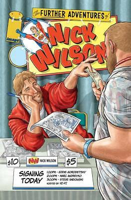 The Further Adventures Of Nick Wilson #1 Nm Image Comic Book 2018 Cover B