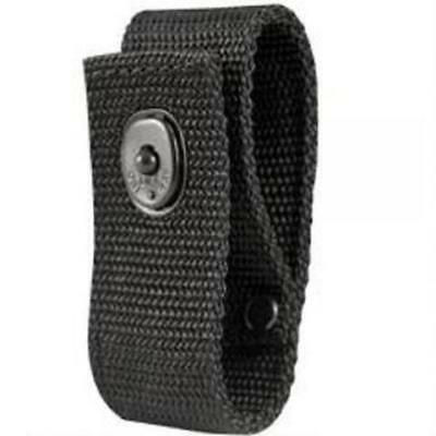 Boston Leather 5519-5 Black Ballistic Woven Nylon Handcuff Strap Black Snap