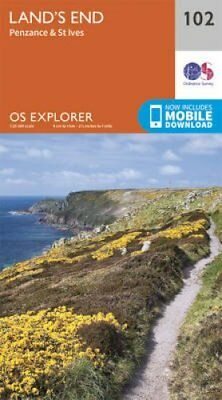 Land's End, Penzance and St Ives by Ordnance Survey 9780319243046