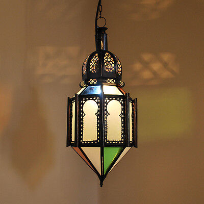 Oriental Hanging Light Moroccan Ceiling Light Lamp Felous Multi H55cm