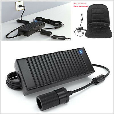Portable 12V 120W AC to DC Power Adapter Converter Car Cigarette Lighter Charger