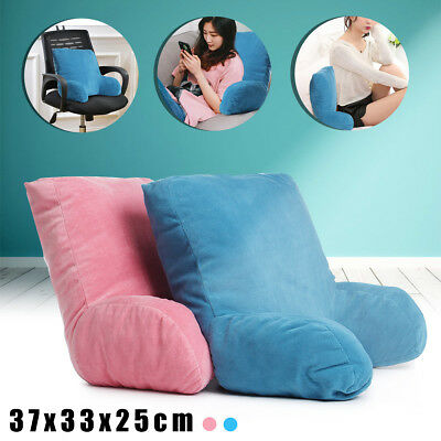 Lounger Chair Sofa Bed Rest Back Pillow Arm Office Backrest Home Seat Cushion