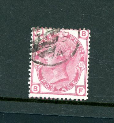 Great Britain 1873-80  3d Rose (SG 144)  Plate 11  very fine used    (J1280)