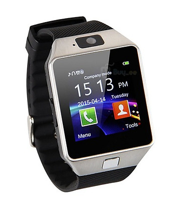 Telefono Reloj Inteligente DZ09 Bluetooth SmartWatch para Android IOS TF SIM