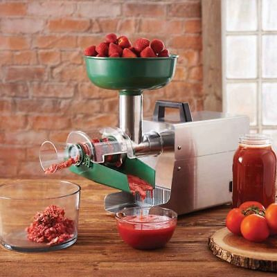 LEM Fruit Vegetable Juicer Strainer for making fresh juice and baby food