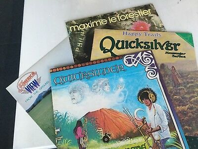 4 X LP s  QuickSilver America View  Le  Forestier Top Zustand !