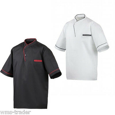 Cook Shirt Piping Chef Clothing Chef Kochbedarf Gastronomy Catering Supplies -
