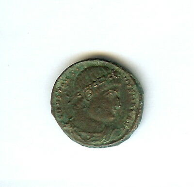 Constantine Ii 317-340 A.d. Ae 3 -2 Standards Between Soldiers- Almost Unc