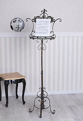 Music Stand Music Stand Metallpult Iron Stand Stands Tripod Country House Style
