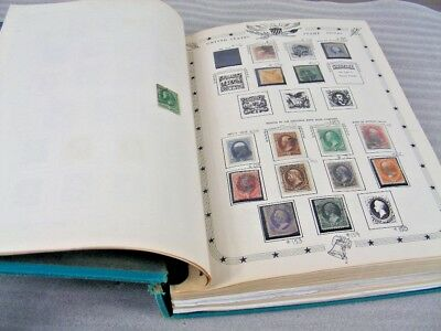 US, incl Revenues, Fantastic Stamp Collection hinged/mounted in a battered Capit