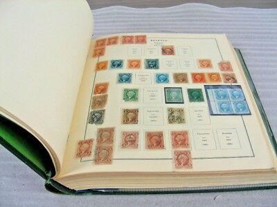 US, Excellent Revenue( & others)  Stamp Collection mostly hinged in a Scott Spec