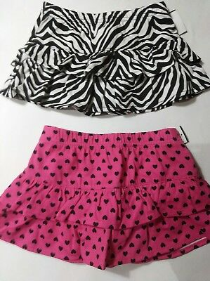 Baby Girls Skirts Lot 2 Okie Dokie 6-9 & 12 Months Very Cute! NWT