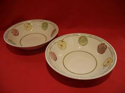 """2 Royal Stafford  ~  Apple Collection / Apples  ~ 9 1/4"""" Serving/vegetable Dish"""