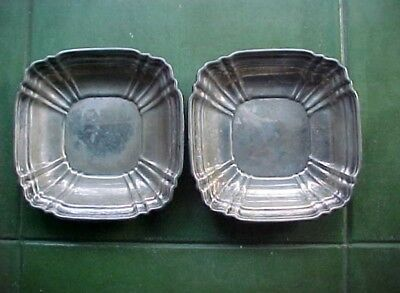 Pair Gorham  Sterling Repousse  Dish Bowls  Wt. 10 0Z  Together No Reserve
