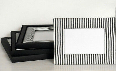 J.Crew Fabric Picture Frame 4 x 6 Stripes New Set of 3