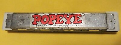 1973 POPEYE Harmonica King Features Syndicate, Inc. vintage music toy KFS Wimpy