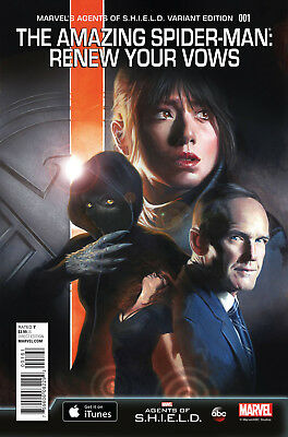 Amazing Spider-Man Renew Your Vows #1 Dell Otto Agents of SHIELD Variant Cover