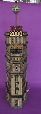 Dept 56- CIC- The Times Tower 2000 New York- Static Use Or Handyman Only