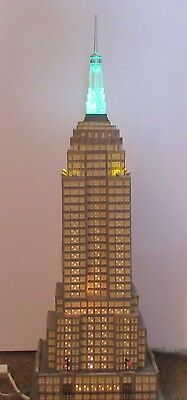 Dept 56- CIC- The Empire State Building- #59207- EUC- Working Condition!