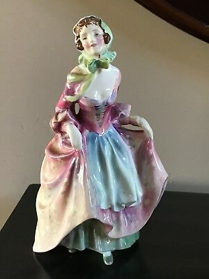 "Vintage Royal Doulton ""Suzette"" Bone China Figurine #HN 2026 Made England"