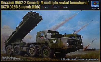 TRUMPETER® 01020 Russian 9A52-2 Smerch-M Multiple Rocket Launcher in 1:35