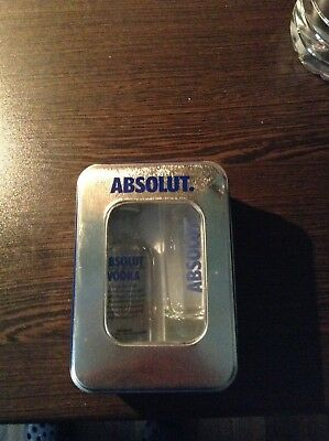 Absolut Vodka MiniPack Blue Mit Glas