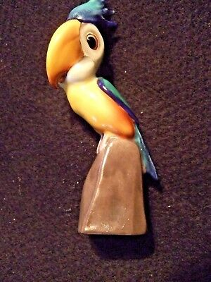 "FIGURINE, Royal Doulton, comical toucan, 5x1,5x1"" Hn 888, hand paint, bone china"