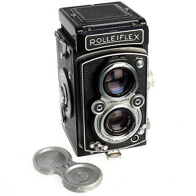 Rollei Rolleiflex Automat Model 4 / K4A 1951 German Collectible TLR, Works Great