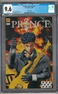 Prince: Alter Ego #1 (1991) CGC 9.6 White Pages  3rd Print  McDuffie - Bolland