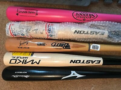 Easton/Brett Bros baseball bat lot of 2