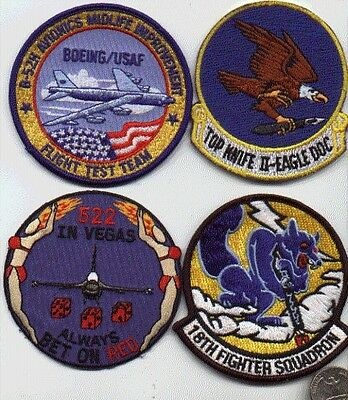 US AIR FORCE WWII KOREA 1 PATCH 18th FIGHTER SQUADRON USAF AVIATION WW2 KOREAN